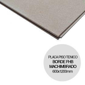Placa piso tecnico Gifafloor FHB fibroyeso borde machimbrado 28mm x 600mm x 1200mm