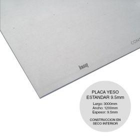 PLACA STD 9.5X3000X1200MM