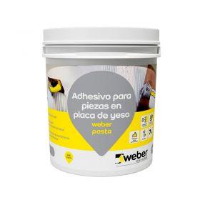 Pegamento revestimientos listo para usar Weber Pasta piezas en placa de yeso interior bolsa x 7kg