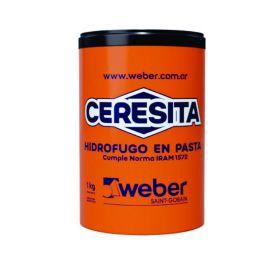 Aditivo hidrofugo Ceresita en pasta balde x 1kg