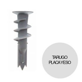 Tarugo taco nylon autoperforante placa yeso caja x 10u