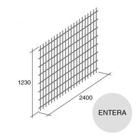 Malla acero entera refuerzo losa pared Concrehaus 1230mm x 2400mm
